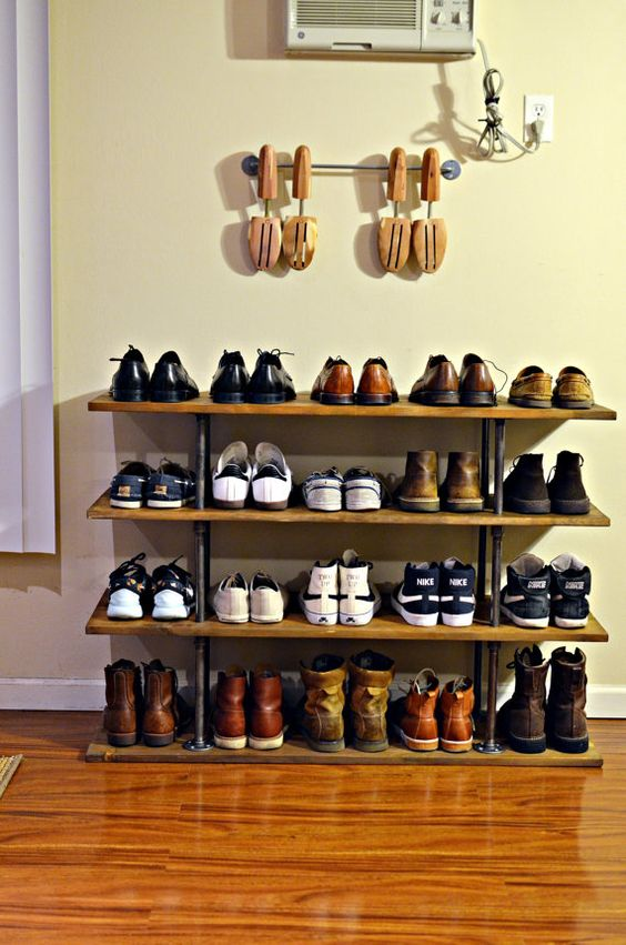 diy rafturi pantofi