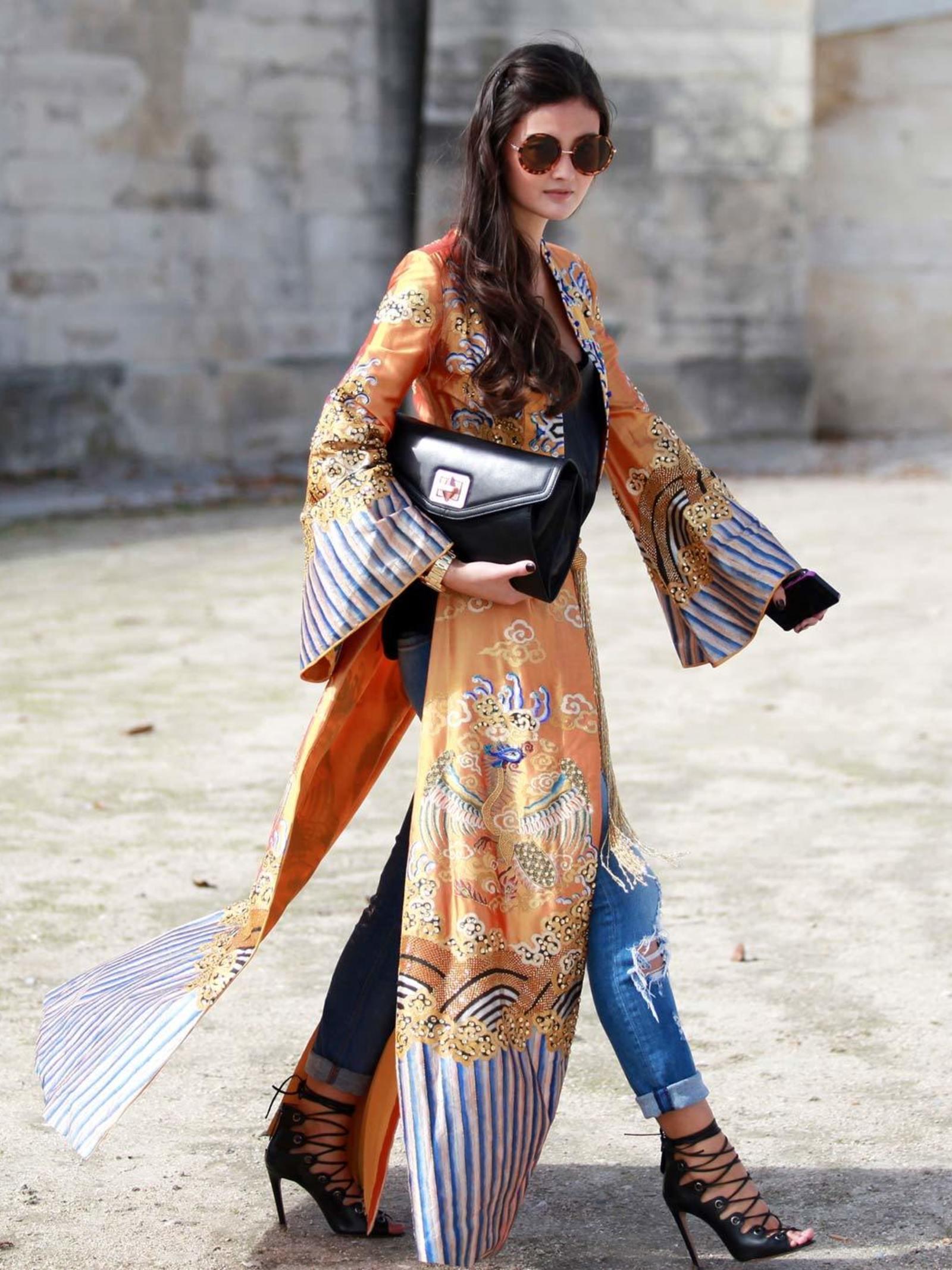 inspiration kimono