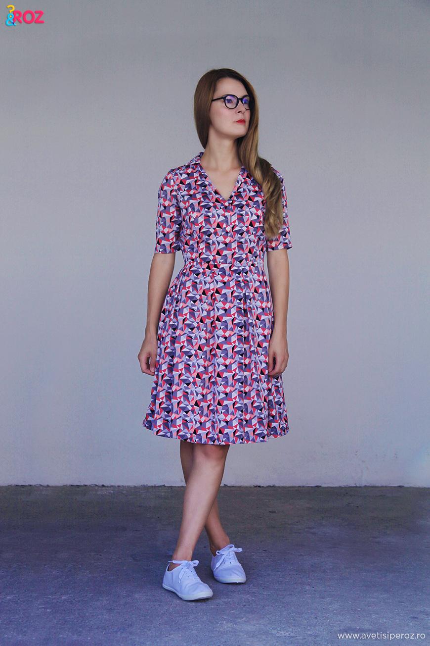 rochie ataellier si tensi c&a