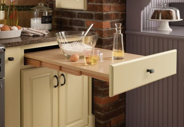 Idei pentru a gasi noi spatii de depozitare in bucatarie for Space saving kitchen ideas