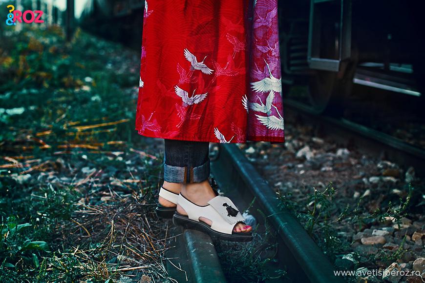 sandale musette si kimono