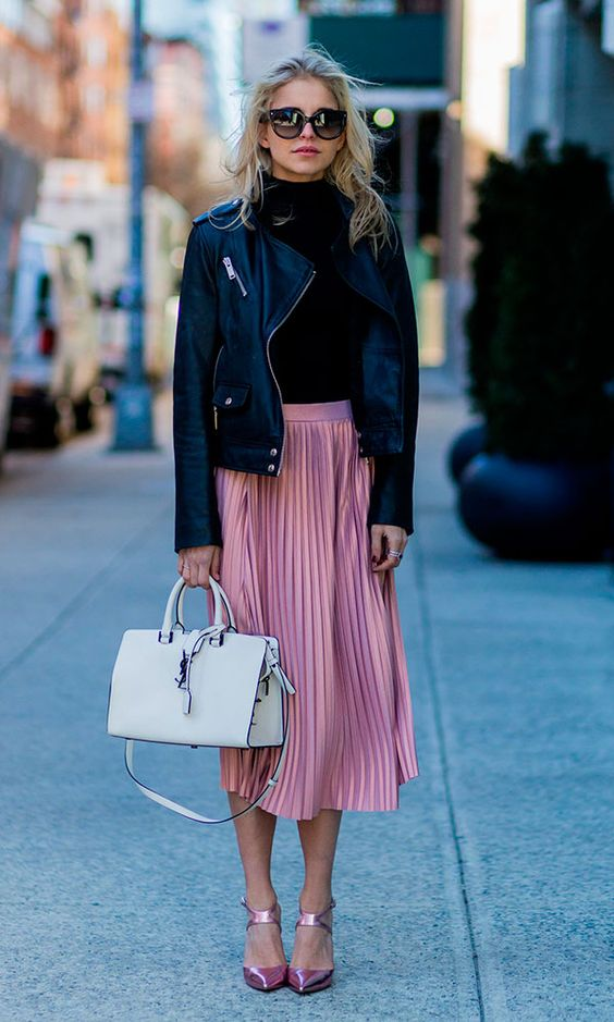 midi-pleated-pink-skirt