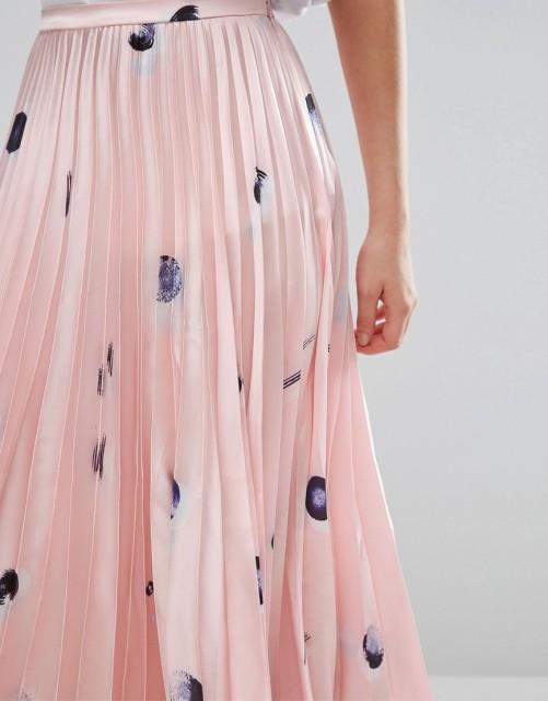 fusta-plisata-roz