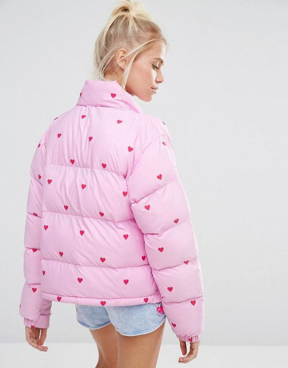 padded jacket lazy oaf