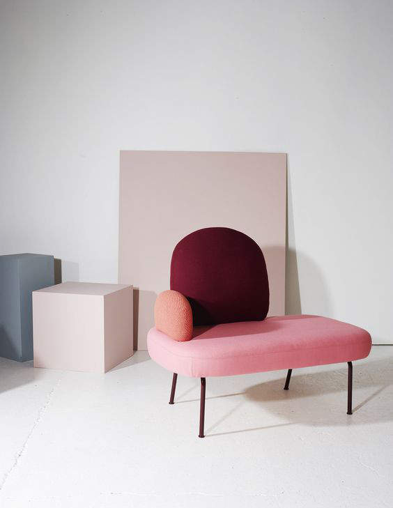 pink modern furniture