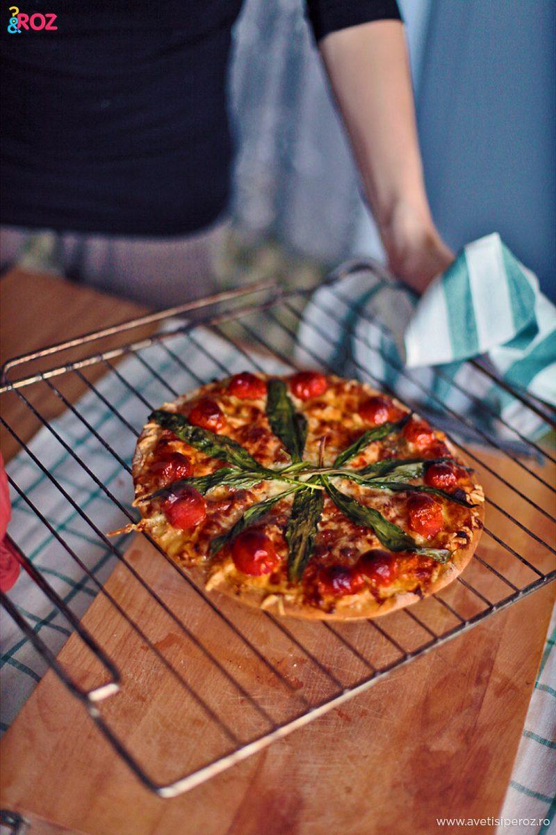 pizza rapid in casa
