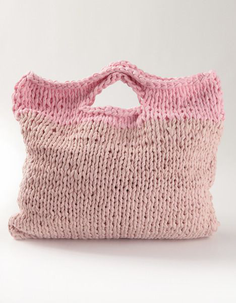 shopper knit