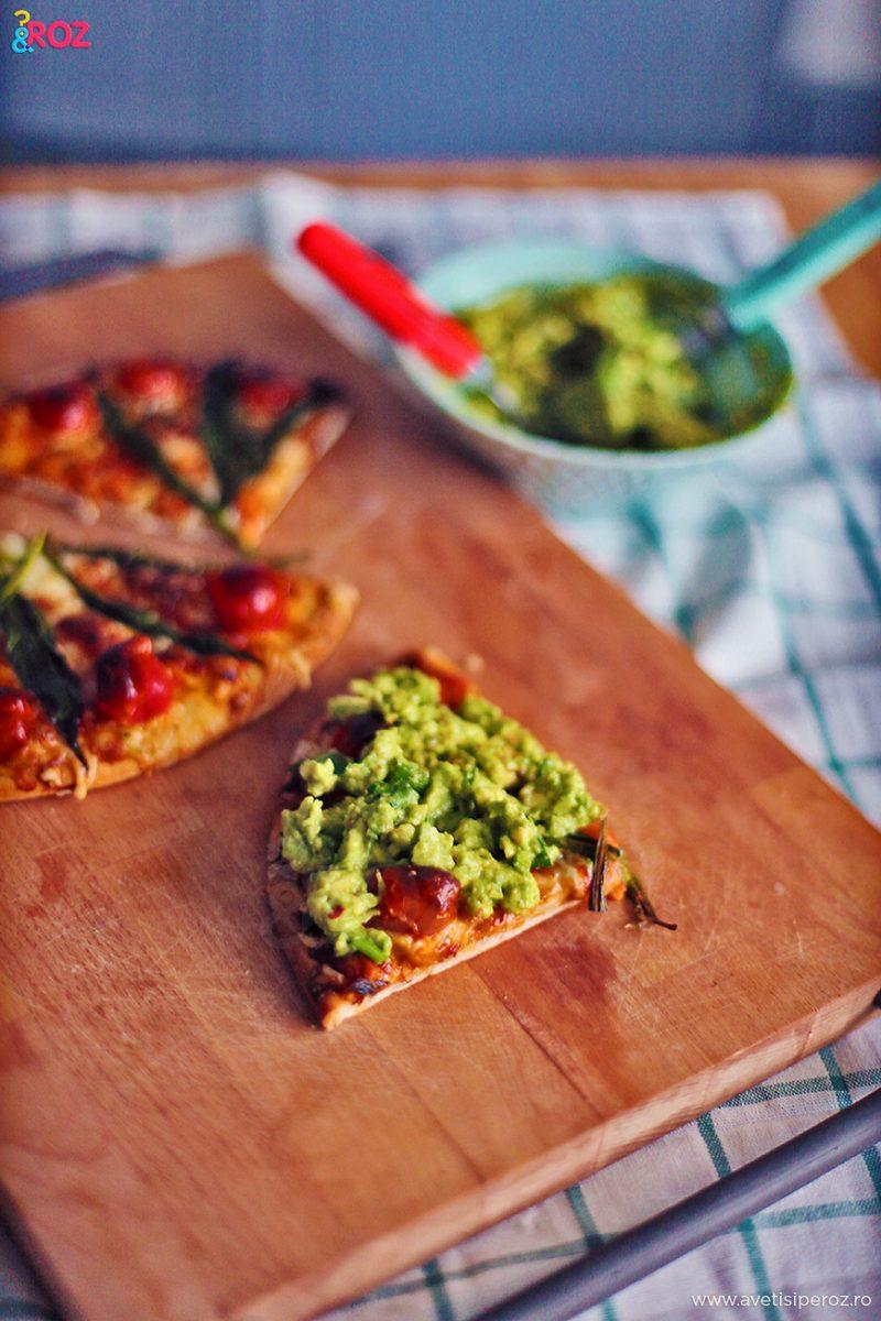 sos avocado si pizza