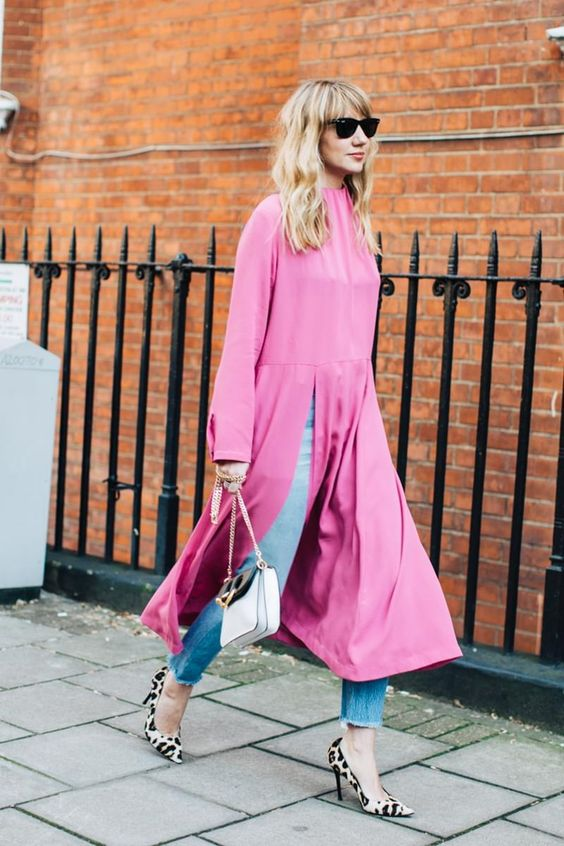 street style pink