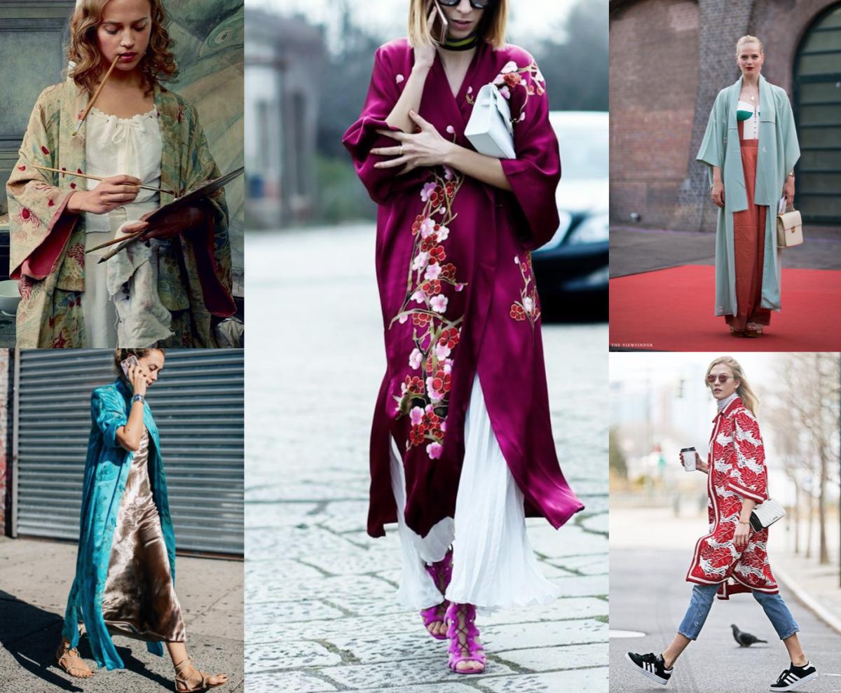 idei de a purta un kimono
