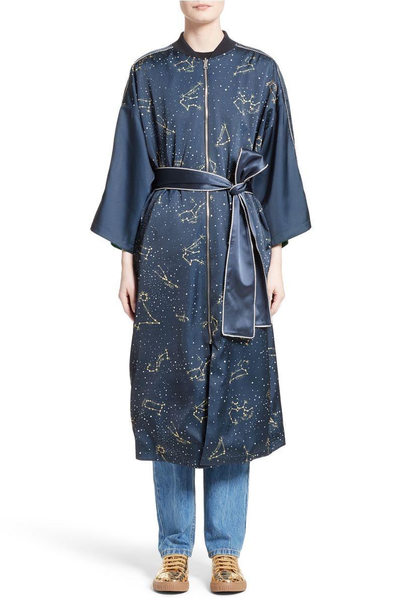 silk kimono robe