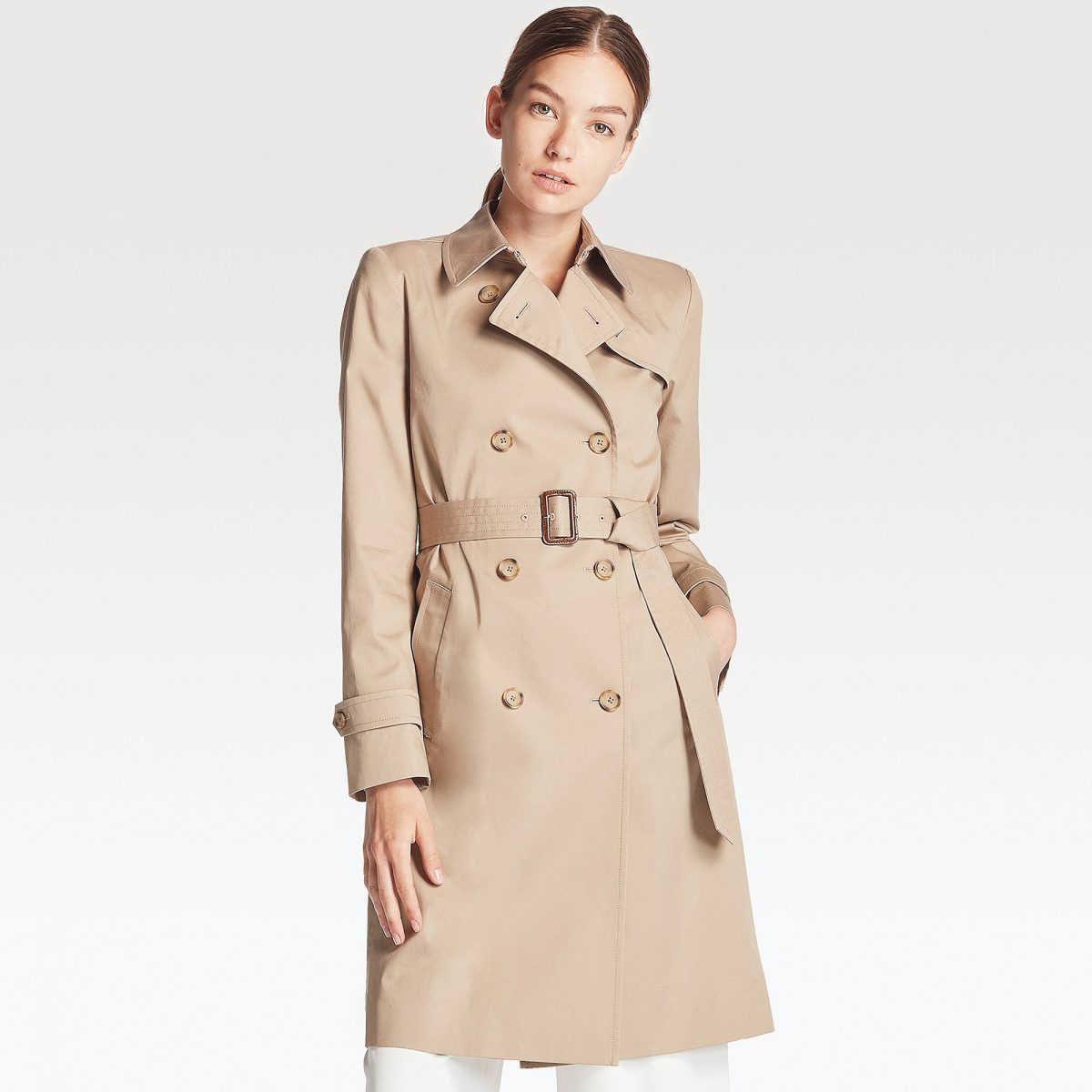 trench uniqlo
