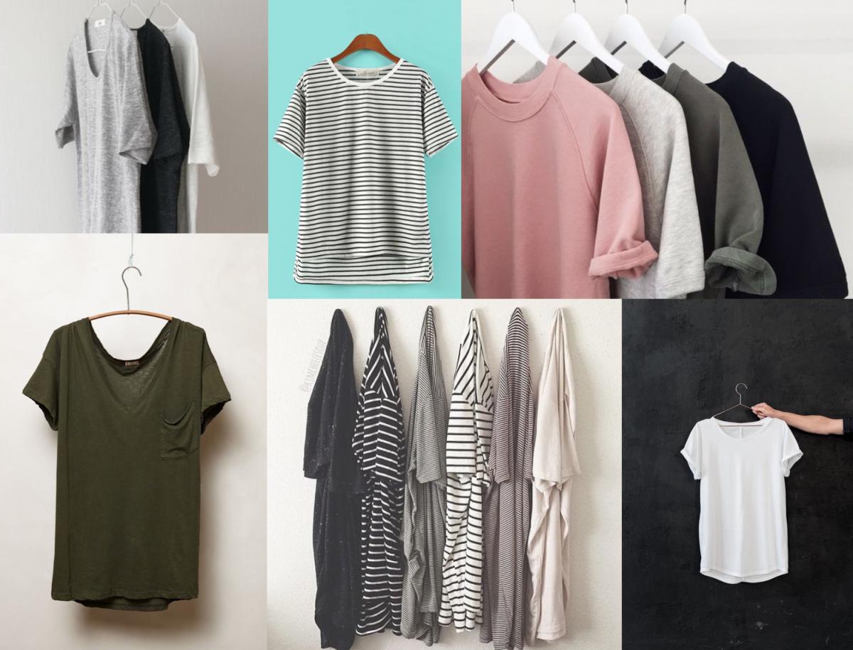 tricouri garderoba capsula