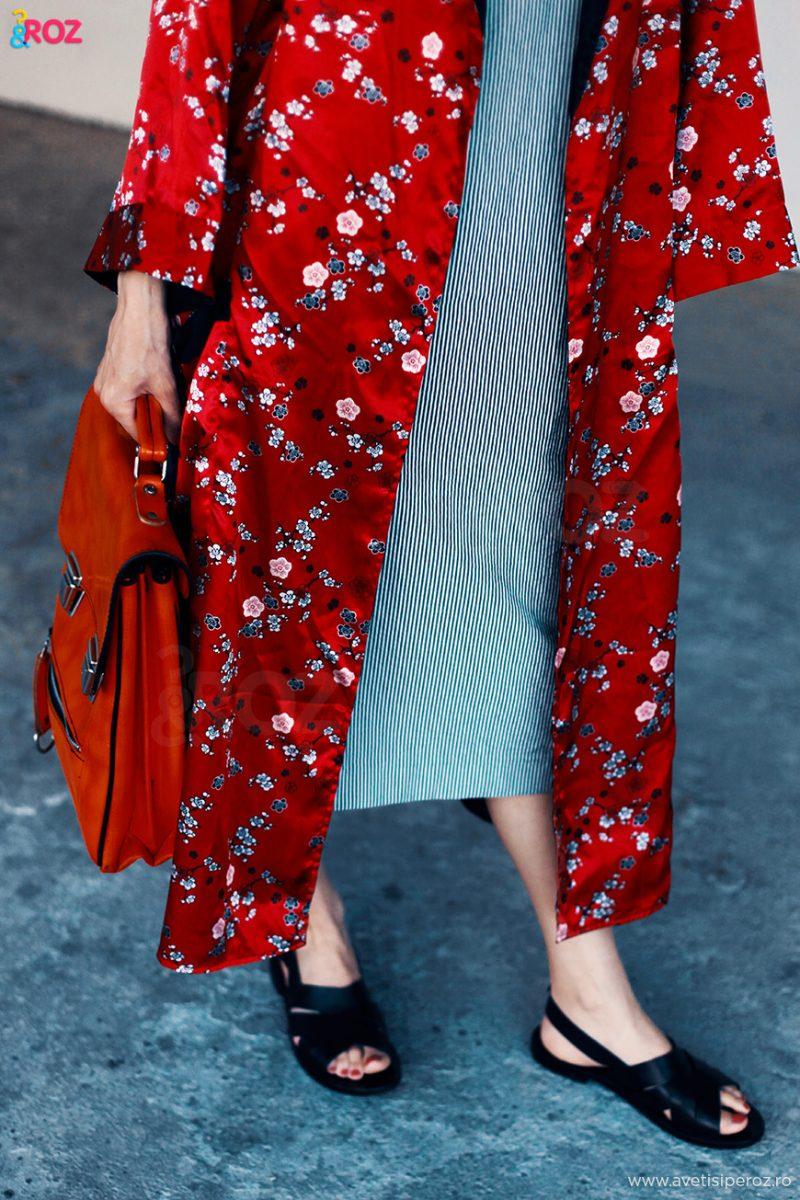 rochie si kimono