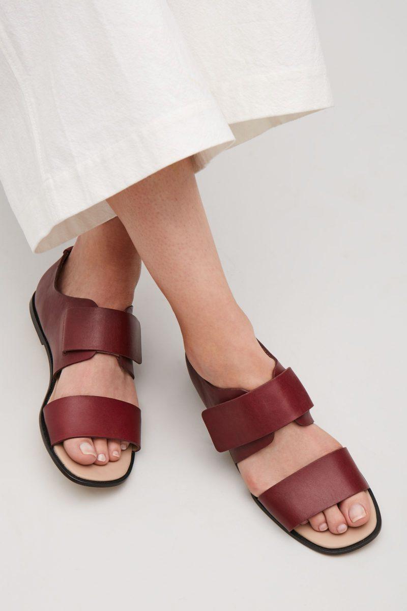 sandale cos fara toc