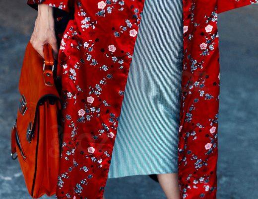 tinuta cu un kimono