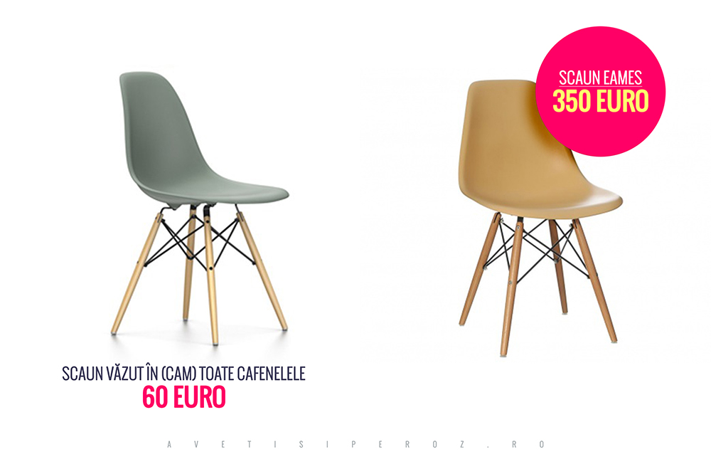eames fake vs original