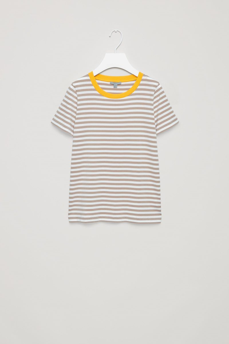 cos striped tshirt