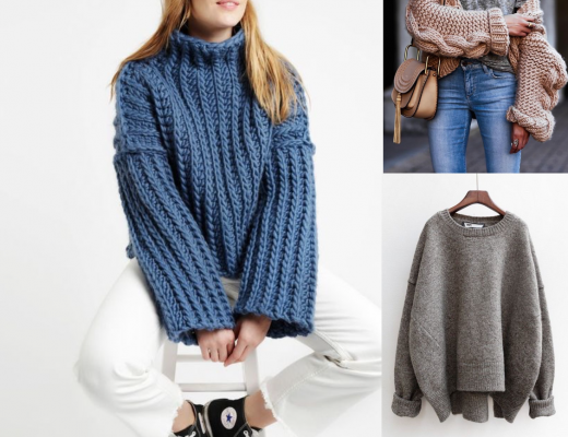 idei de purtat pulovere si blugi