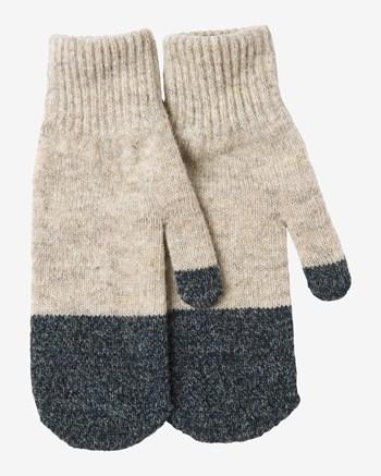 colour block mittens
