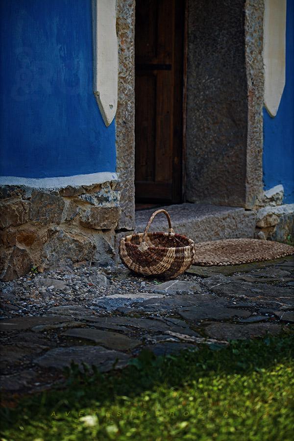 casa albastra covasna