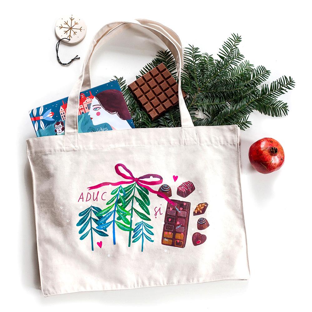 sacosa de panza pentru cadouri