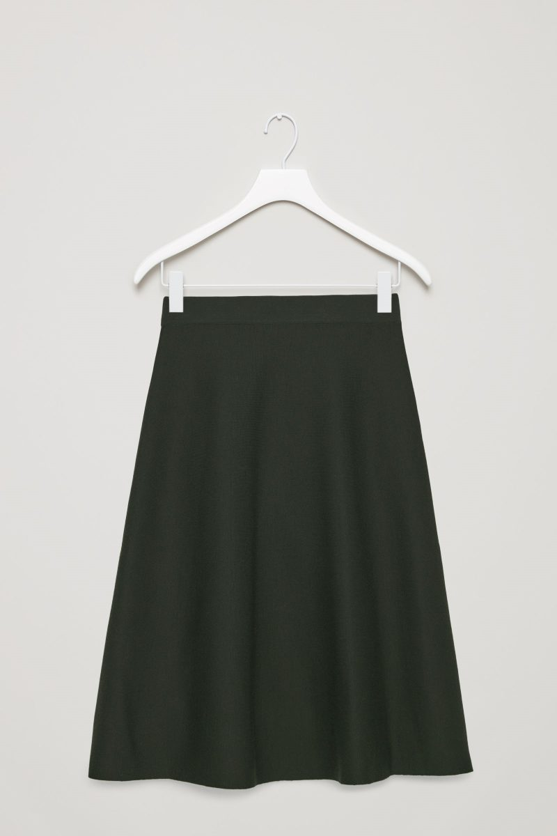 wool cos skirt