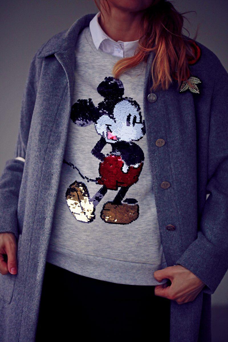 bluza cu mickey mouse