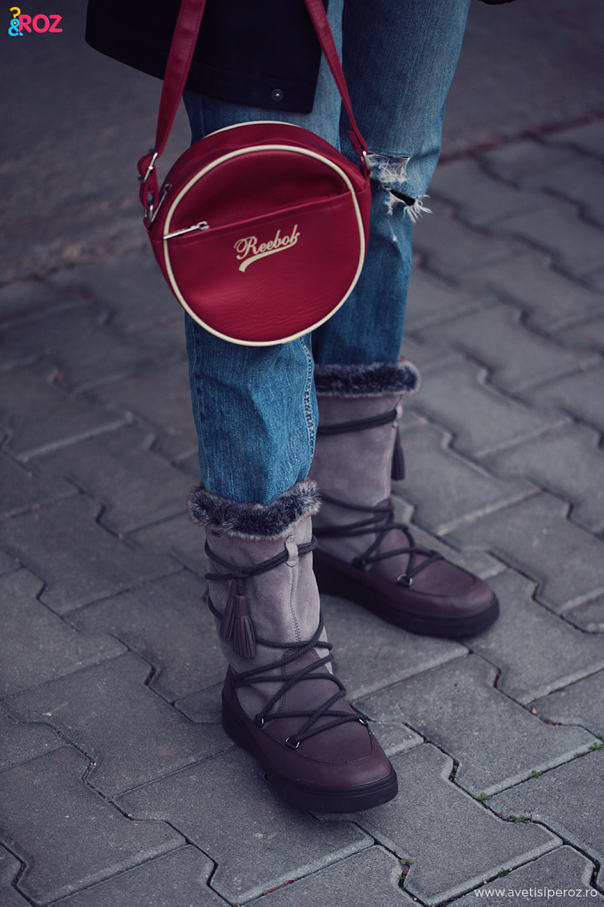 geox boots and jeans