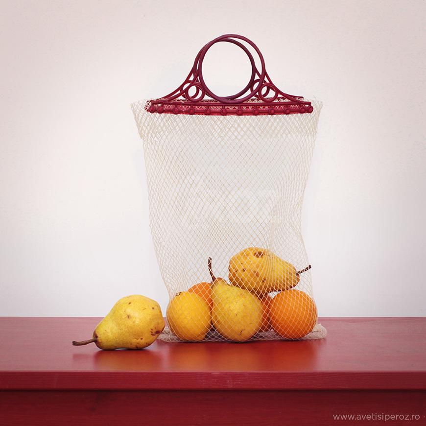 plasa retro pentru fructe