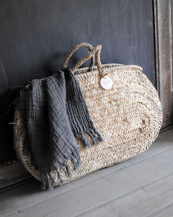 geanta mare din rachita