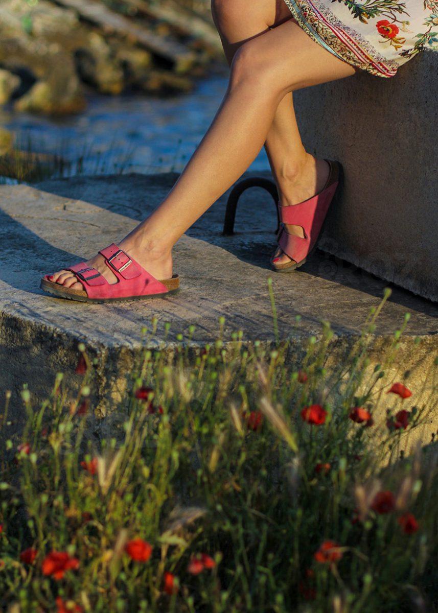 sandale roz birkenstock