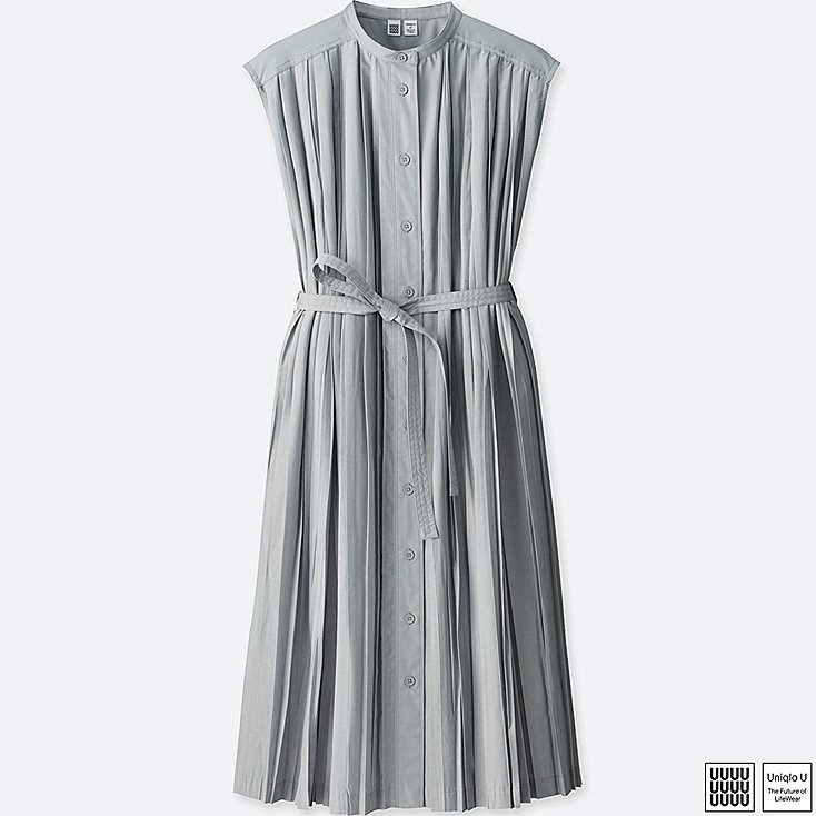 uniqlo grey dress
