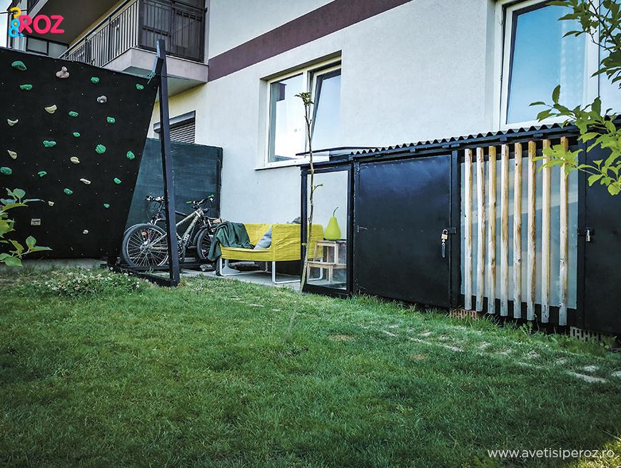 cutie depozitare gradina