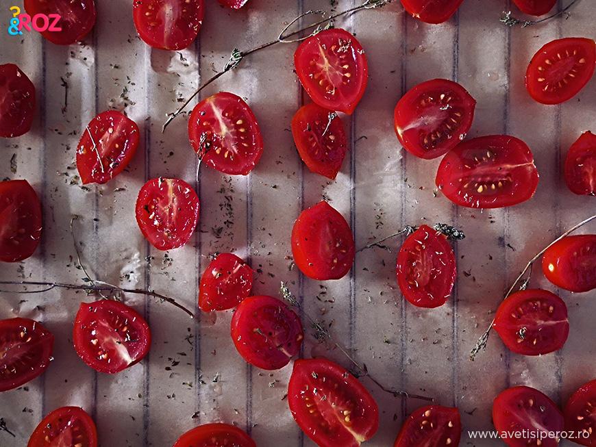 rosii la cuptor