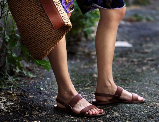sandale de piele grecesti