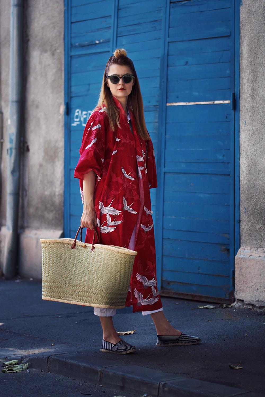 kimono si espadrile