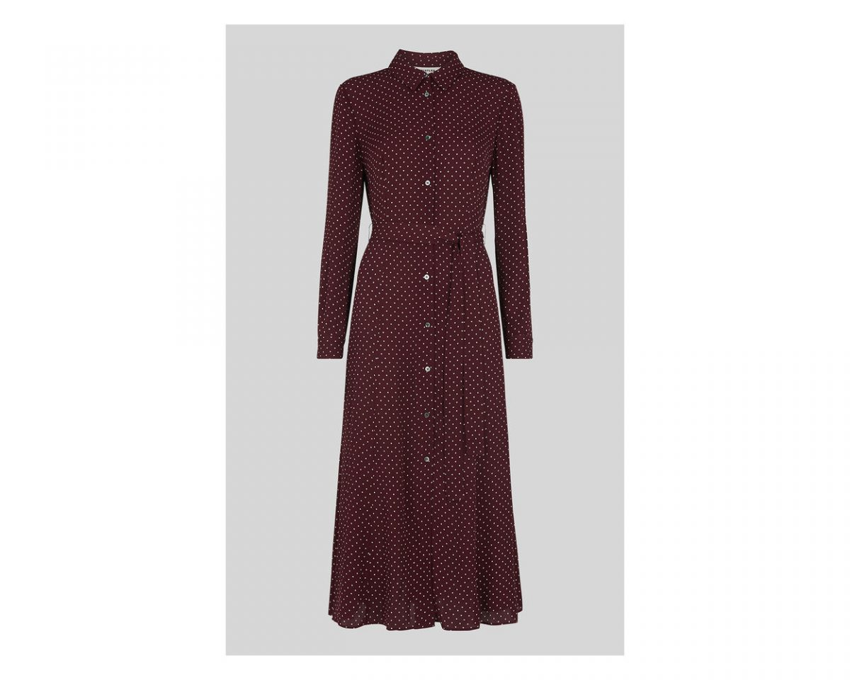 whistles margot shirt dress