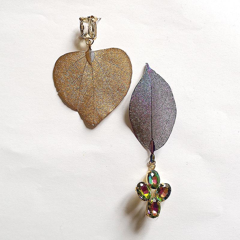 bijuterii cu frunze