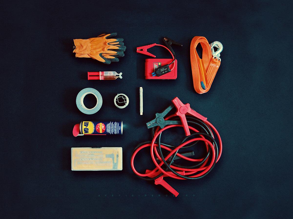 Kit reparatii auto - cabluri pornire baterie si tractare auto
