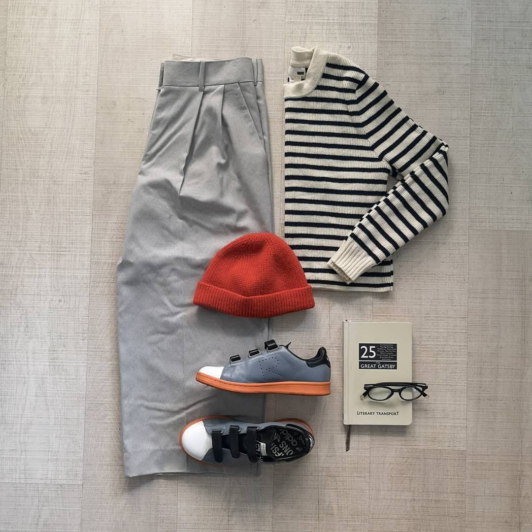 outfit grid