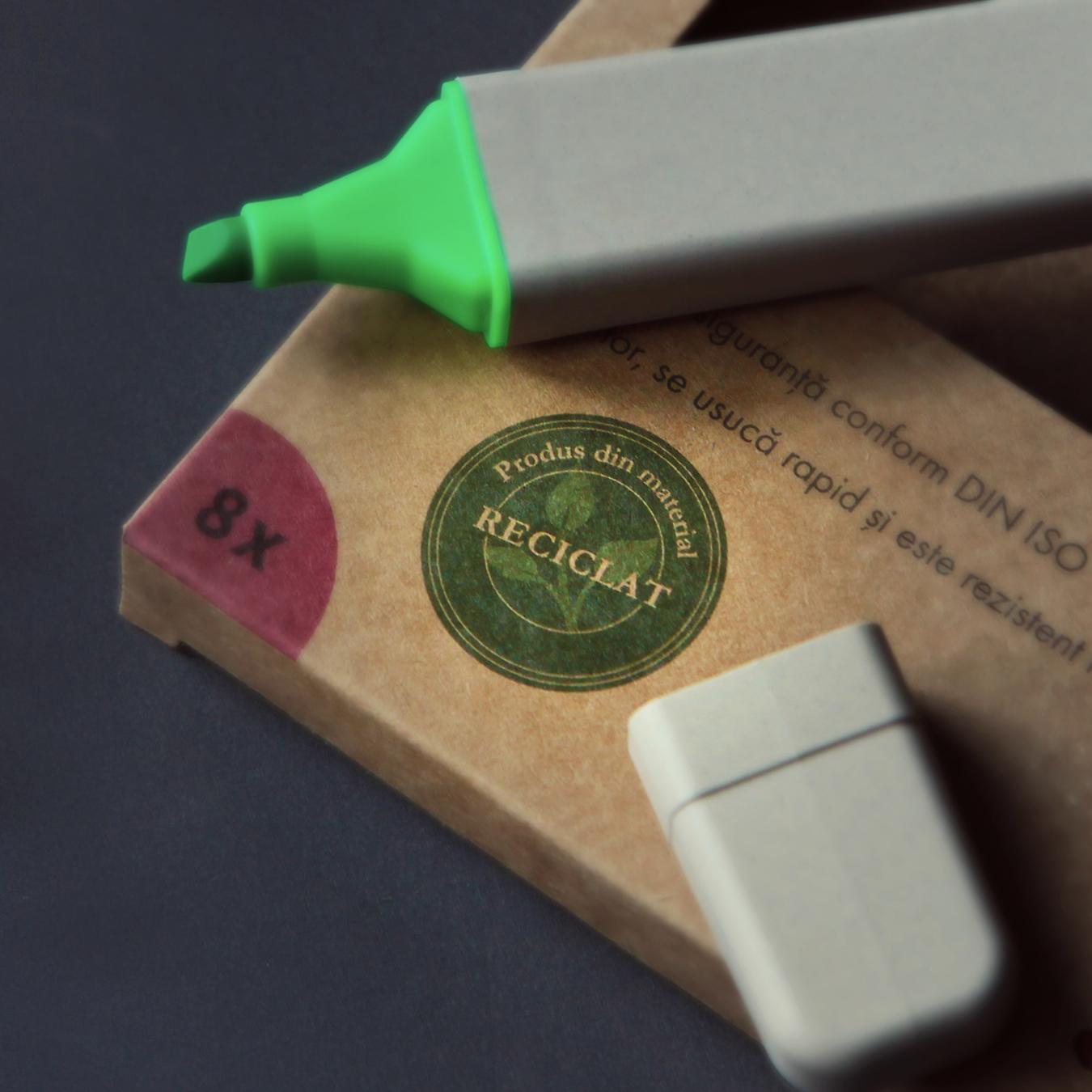 carioci din material reciclat
