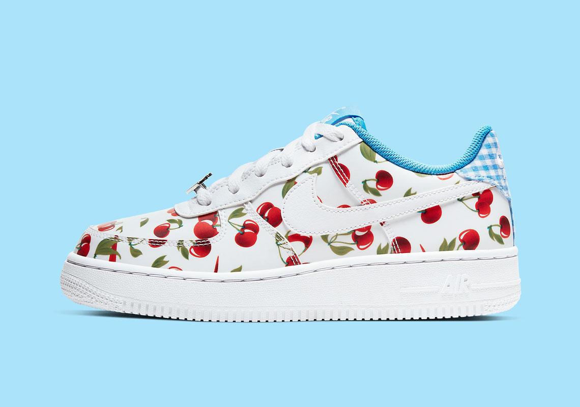 nike air force cherries