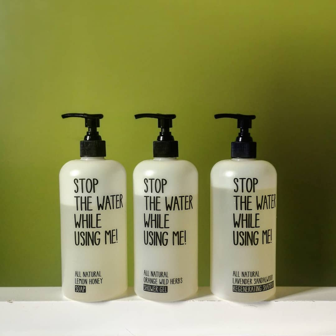 stop the water cosmetics