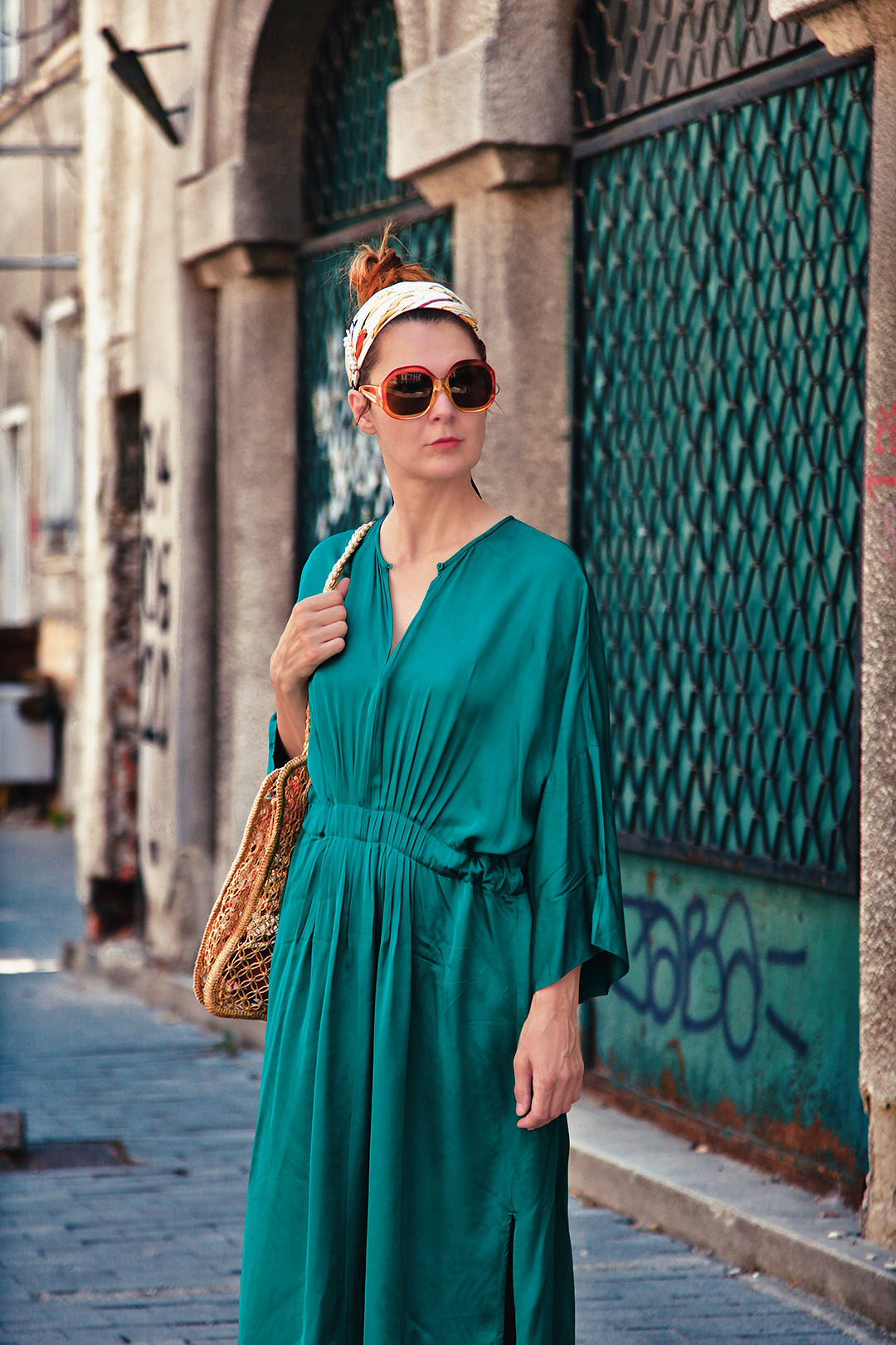 green inwear dress