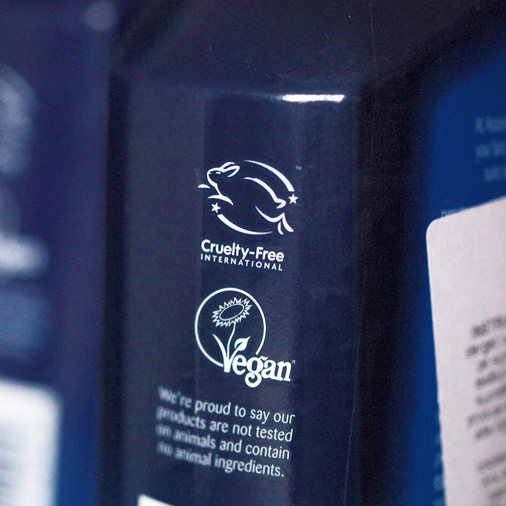 produse de curatare netestate pe animale