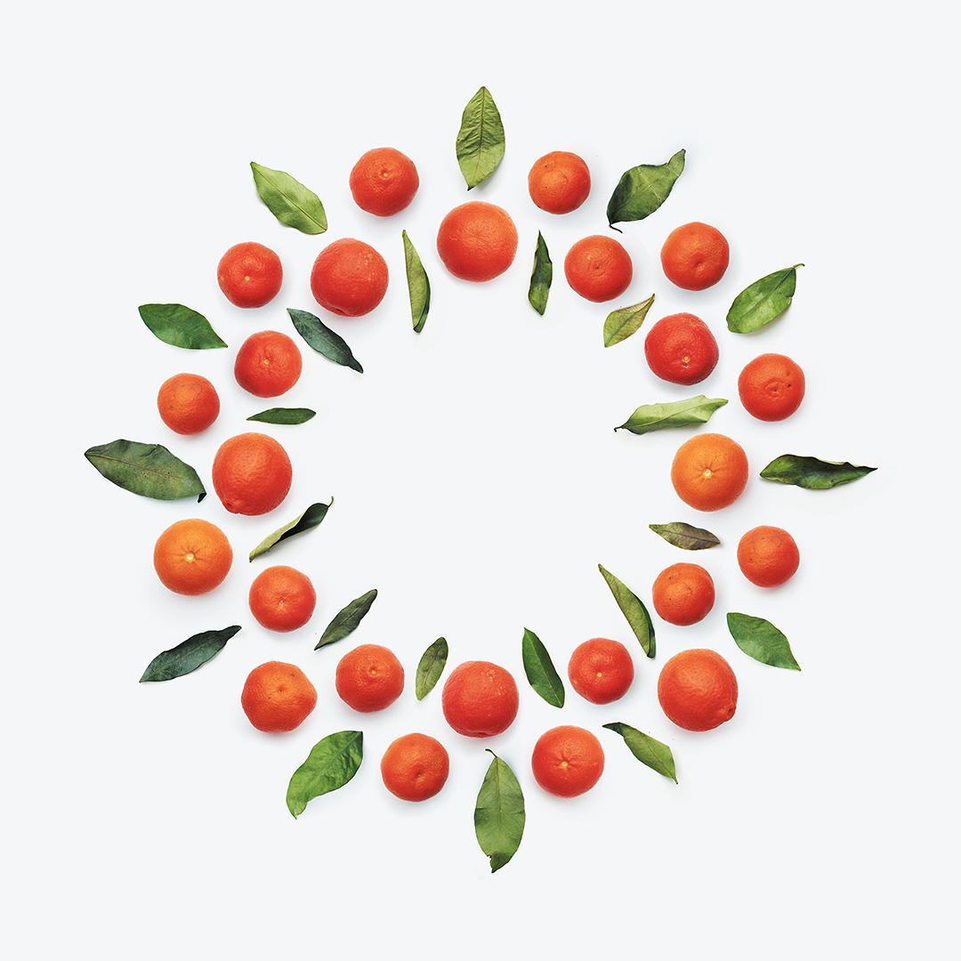 coroana eco din mandarine