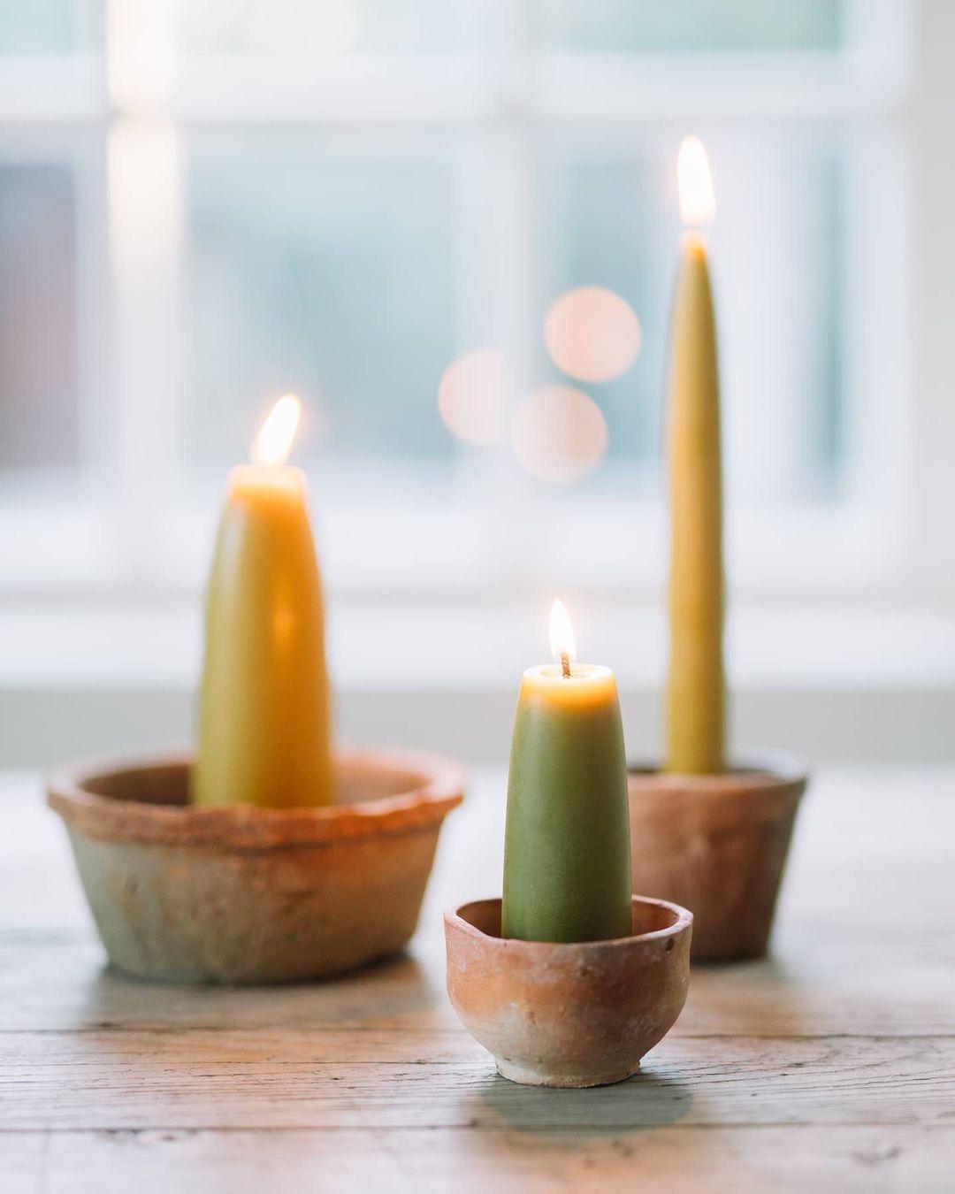 lumanari din ceara de la mo - candles and more