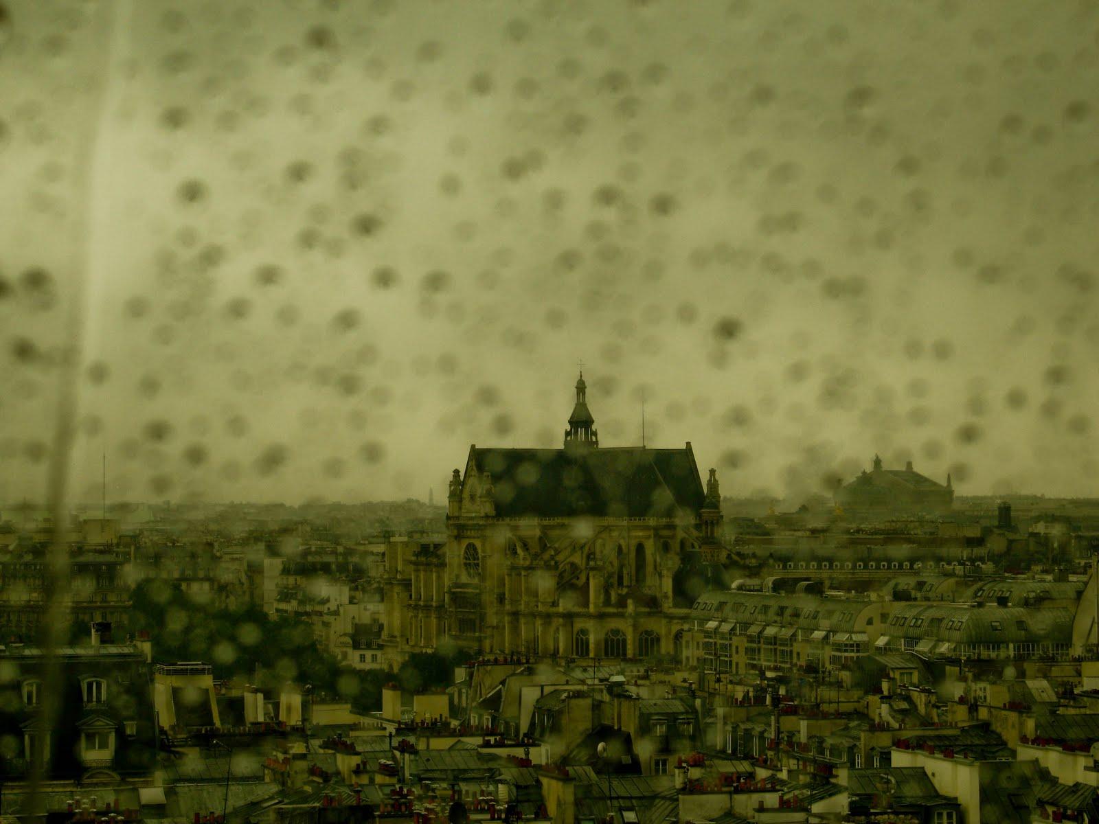 paris in ploaie