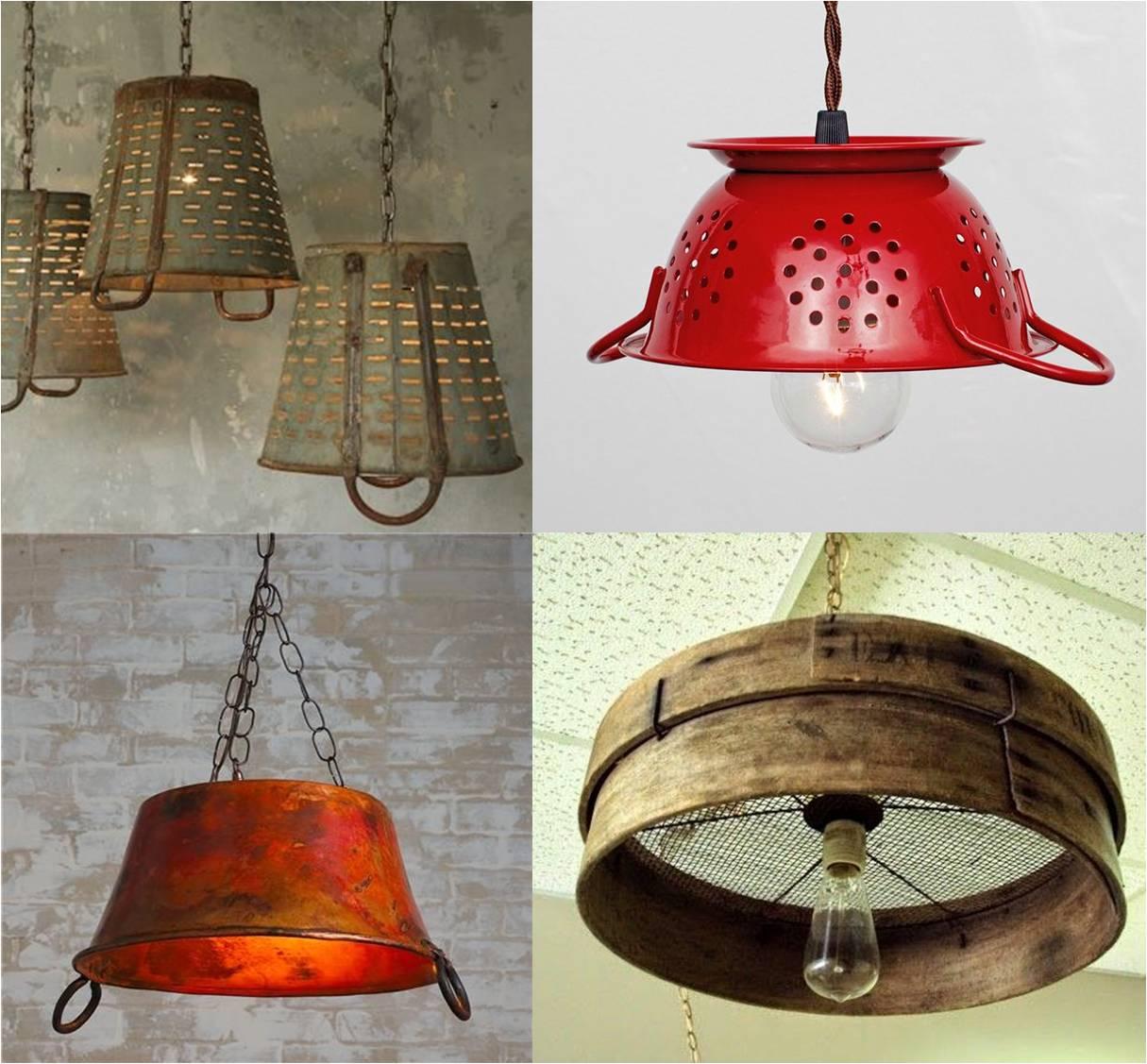 diy kitcken lamp